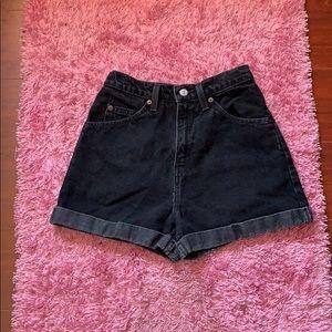 Levi's vintage high rise denim shorts